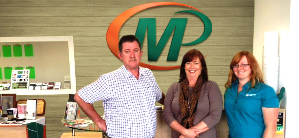 Meet the team of Minuteman Press, Wanneroo, Australia - L-R: Greg Walsh, co-owner; Helen Walsh, co-owner, and Lauren Bacich, designer. http://www.minutemanpressfranchise.com.au
